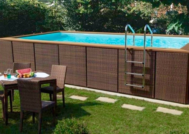 Piscine hors sol laghetto dolce vita for Piscine a monter